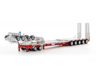 Drake Collectibles 1:50 Drake 5x8 Drop Deck Trailer with 2x8 Dolly - Bowers Heavy Haulage