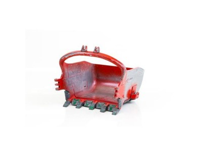 1:50 Scale Esco 155 Cubic Yard Profill Dragline Bucket - Worn Look