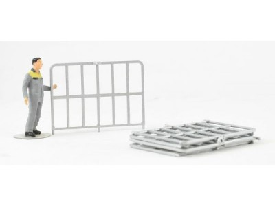 1:50 Scale Flat Top Trailer Side Gates - Qty 5