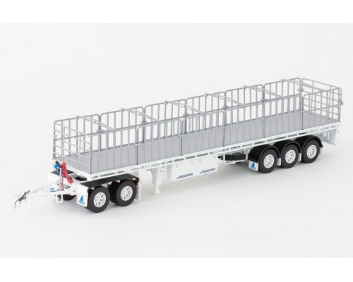 Drake Collectibles1:50 MaxiTRANS Road Train Trailer & Dolly Set - White