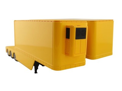 Exclusive Replicas 1:32 Australian B-Double Trailers - Yellow