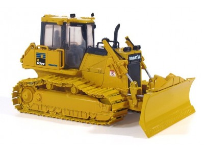 1:50 Scale Komatsu D65PX-17 Dozer with Rear Winch