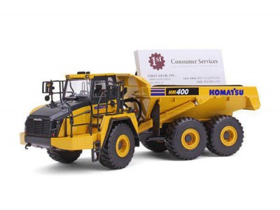 1:50 Scale Komatsu HM400-5 Mining Dump Truck