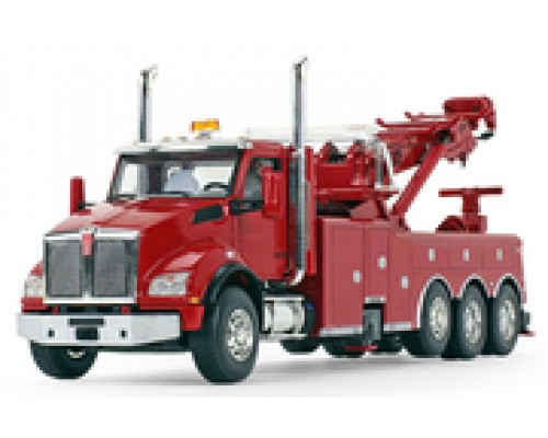 First Gear 1:50 Kenworth T880 with Century 1060 Rotator Wrecker - Red