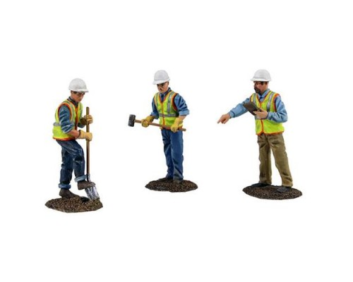 Construction Figurines - Realistic Work Crew
