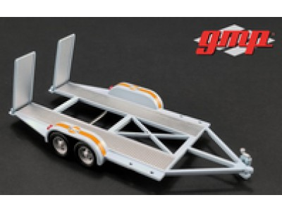 GMP 1:43 Tandem Car Trailer - Gulf Oil