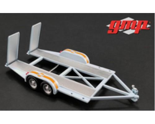 GMP 1:43 Tandem Car Trailer - Gulf Oil