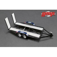GMP 1:43 Scale Tandem Car Trailer - Ford