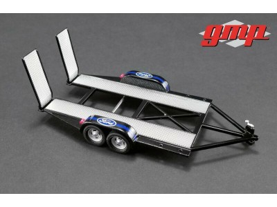 GMP 1:43 Tandem Car Trailer - Ford