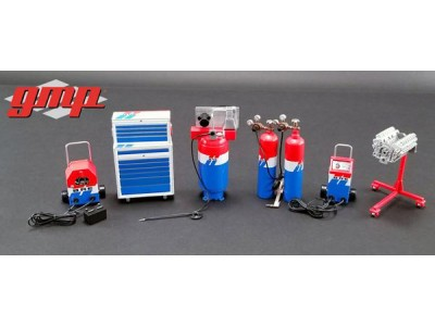 GMP 1:18 Garage Workshop Set - Brock Racing