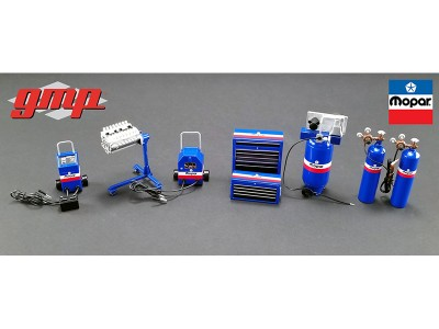 GMP 1:18 Garage Workshop Set - MOPAR