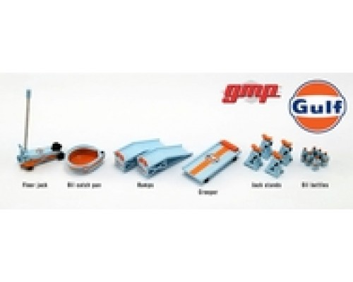 GMP 1:18 Garage Workshop Tool Set #2 - Gulf Oil
