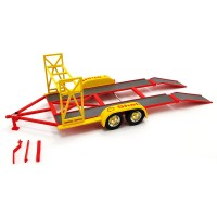 1:18 Scale Tandem Car Trailer - Shell Oil