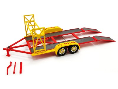 GMP 1:18 Tandem Car Trailer - Shell Oil