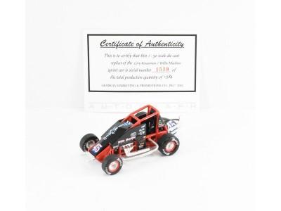 GMP 1:50 Wingless Sprint Car - Corey Kruseman - Willis Machine
