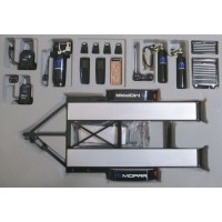 1:18 Scale Mopar Racing Tandem Trailer & Tool Set