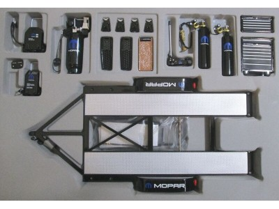 GMP 1:18 Mopar Racing Tandem Trailer & Tool Set