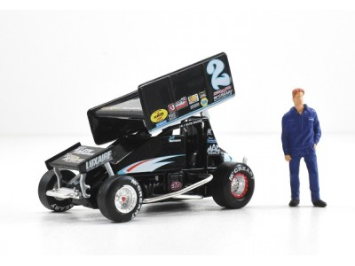 1:50 Scale Sprint Car - Andy Hillenburg - Luxaire