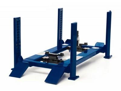 Greenlight 1:18 Workshop Hoist - 4 Post - Blue