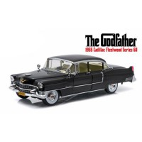 1:18 Scale The Godfather '55 Cadillac Fleetwood with Figurine