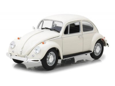 Greenlight 1:18 1967 Volkswagen Beetle Right Hand Drive in Lotus White