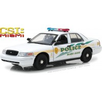 1:18 Scale Ford Crown Victoria Police Interceptor - CSI Miami