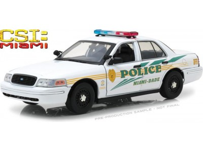 1:18 Scale CSI Miami Ford Crown Victoria Police Interceptor