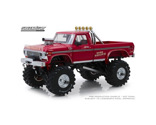 1:18 Scale Ford F-250 Monster Truck - High Roller 11