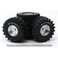 "1:18 Scale Monster Truck - 48"" Wheel and Tire Set"