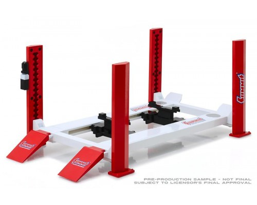 1:18 Scale Workshop Hoist - 4 Post - Summit Racing Equipment