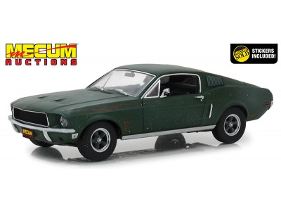 1:18 Scale Bullitt 1968 Ford Mustang GT Unrestored