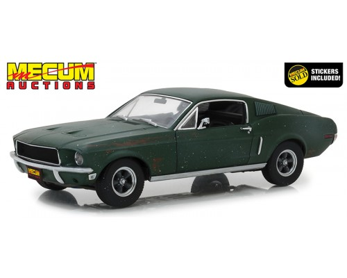 1:18 Scale Bullitt 1968 Ford Mustang GT Unrestored