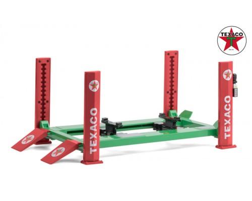 Greenlight 1:18 Workshop Hoist - 4 Post - Texaco