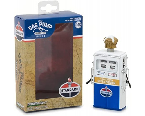 1:18 Scale Vintage Petrol Bowser - Standard Oil Co - Super Premium