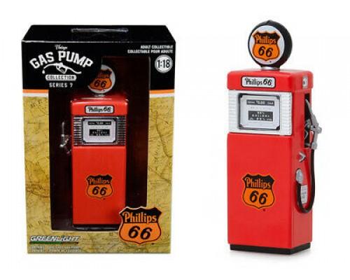 1:18 Scale Vintage Petrol Bowser - Series 7 - Phillips 66