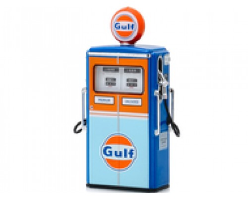 1:18 Scale Vintage Gas Bowser - Series 7 - Gulf Oil