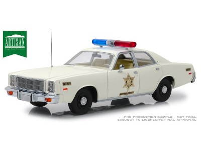 1:18 Scale Hazzard County Sheriff  1977 Plymouth Fury