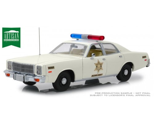 1:18 Scale Dukes Of Hazzard 1977 Plymouth Fury - Hazzard County Sheriff