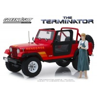 1:18 Scale The Terminator - Sarah Connor's 1983 Jeep CJ-7 Renegade