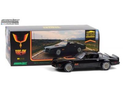 Greenlight 1:18 1977 Pontiac Firebird - Firearm Black