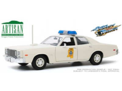 Greenlight 1:18 Smokey and the Bandit 1975 Plymouth Fury Mississippi Highway Patrol