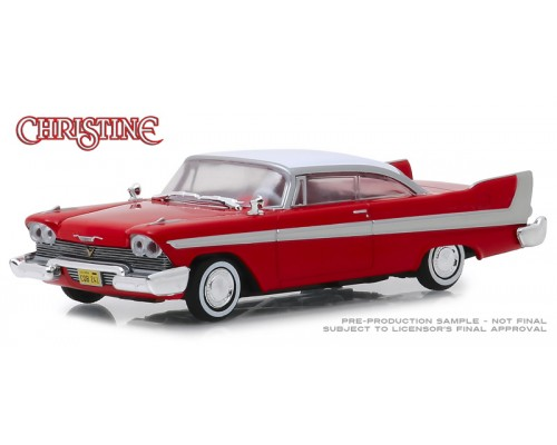 Greenlight 1:43 Christine Movie Car - 1958 Plymouth Fury
