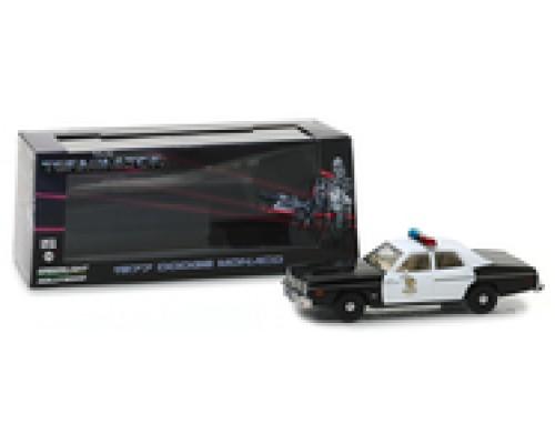 Greenlight 1:43 1977 Dodge Monaco Police Car - The Terminator