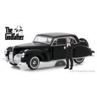Greenlight 1:43 1941 Lincoln Continental with Figurine - The Godfather