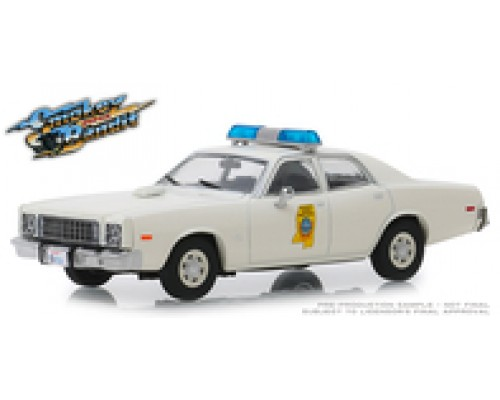 Greenlight 1:43 1975 Plymouth Fury Highway Patrol - Smokey and the Bandit