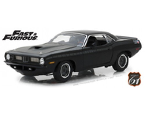 1:18 Scale Fast and Furious - 1970 Plymouth Barracuda - Furious 7