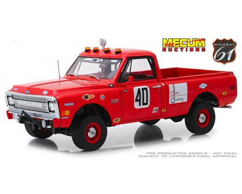 1:18 Scale Steve McQueens 1969 Chevrolet C-10 Baja 1000 Pick-Up