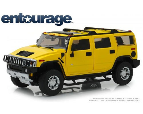 1:18 Scale Entourage TV Series 2003 Hummer H2