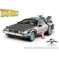 Hot Wheels 1:18 Back to the Future Time Machine with Mr. Fusion