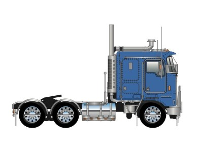 Iconic Replicas 1:50 Kenworth K100G Prime Mover - Blue